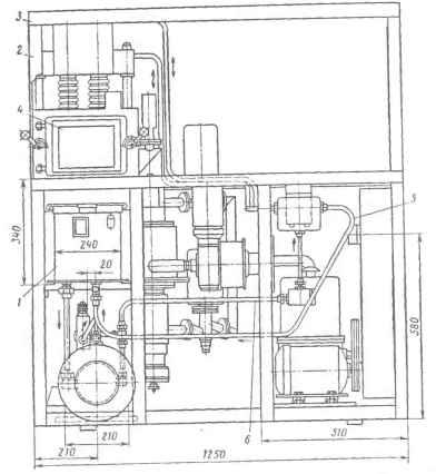 Схема полуавтоматической
