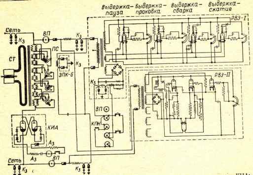 Электрическая схема машин типа
